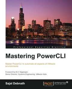 Mastering PowerCLI-cover