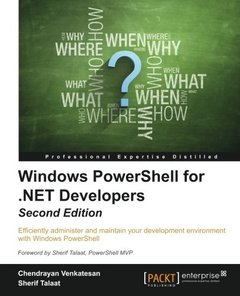 Windows PowerShell for .NET Developers,  2/e(Paperback)-cover