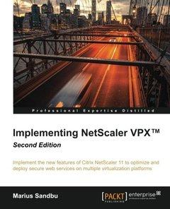Implementing NetScaler VPX(TM),  2/e(Paperback)-cover
