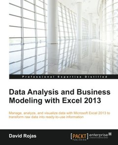 Data Analysis and Business Modeling with Excel 2013-cover