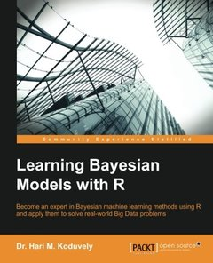 Learning Bayesian Models with R-cover