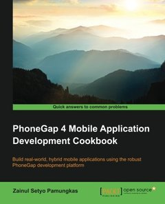 PhoneGap 4 Mobile Application Development Cookbook-cover
