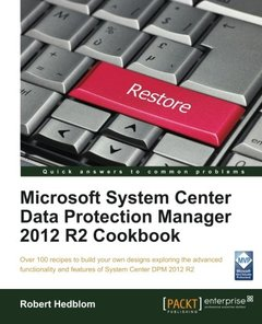Microsoft System Center Data Protection Manager 2012 R2 Cookbook-cover