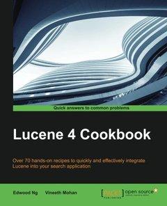 Lucene 4 Cookbook-cover