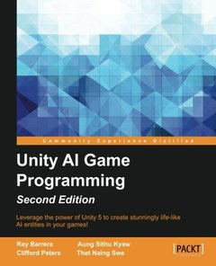 Unity AI Game Programming, 2/e (Paperback)-cover