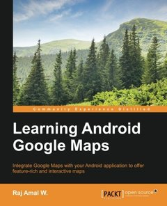 Learning Android Google Maps-cover