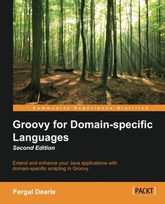 Groovy for Domain-Specific Languages,  2/e(Paperback)-cover