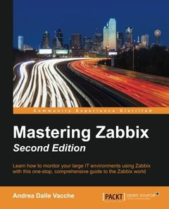 Mastering Zabbix,  2/e(Paperback)-cover