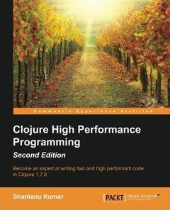 Clojure High Performance Programming,  2/e(Paperback)-cover