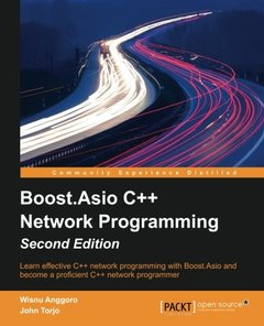 Boost.Asio C++ Network Programming,  2/e(Paperback)-cover