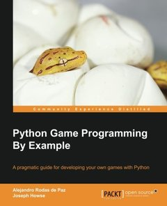 Python Game Programming by Example (Paperback)-cover
