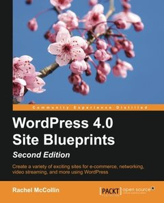 WordPress 4.0 Site Blueprints,  2/e(Paperback)-cover