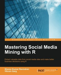 Mastering Social Media Mining with R-cover