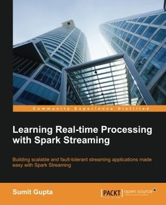 Learning Real Time processing with Spark Streaming-cover