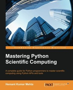 Mastering Python Scientific Computing-cover