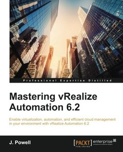 Mastering vRealize Automation 6.2-cover