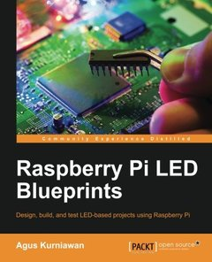 Raspberry Pi LED Blueprints-cover