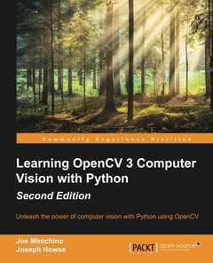 Learning OpenCV 3 Computer Vision with Python, 2/e (Paperback)-cover