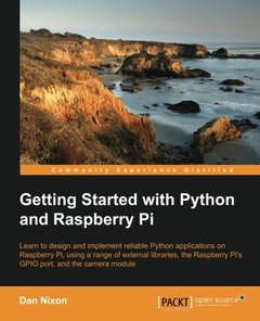 Getting Started with Python and Raspberry Pi-cover