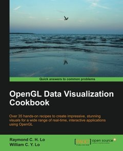 OpenGL Data Visualization Cookbook (Paperback)-cover