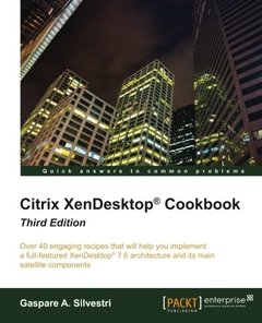 Citrix XenDesktop Cookbook, 3/e(Paperback)-cover