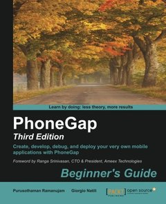PhoneGap 3 Beginner's Guide, 3/e(Paperback)-cover