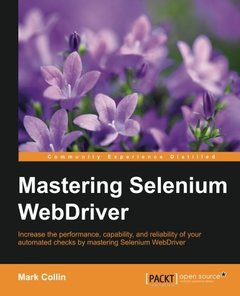 Mastering Selenium WebDriver-cover