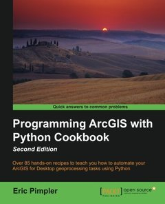 Programming ArcGIS with Python Cookbook,  2/e(Paperback)-cover