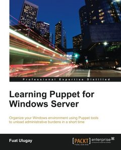 Learning Puppet for Windows Server-cover