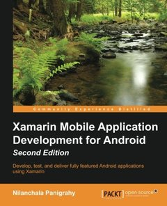 Xamarin Mobile Application Development for Android,  2/e(Paperback)-cover