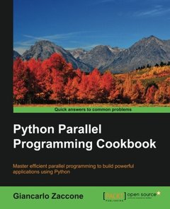 Python Parallel Programming Cookbook (Paperback)-cover