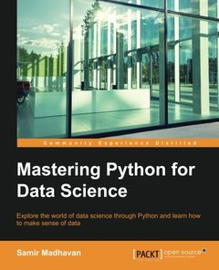 Mastering Python for Data Science-cover