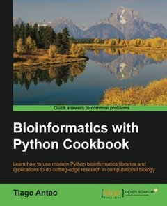 Bioinformatics with Python Cookbook-cover