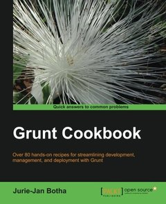 Grunt.js Cookbook-cover