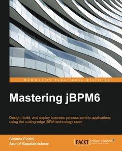 Mastering jBPM6 (Paperback)-cover