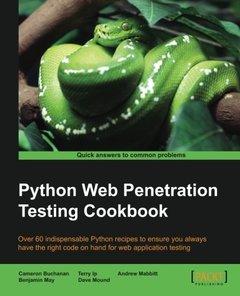 Python Web Penetration Testing Cookbook-cover