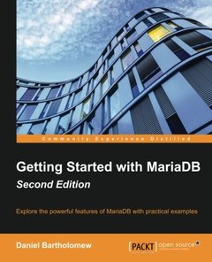 Getting Started with MariaDB,  2/e(Paperback)-cover