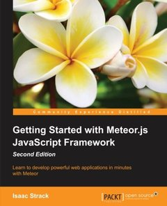 Getting Started with Meteor.js JavaScript Framework,  2/e(Paperback)-cover