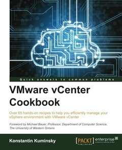 VMWare vCenter Cookbook-cover