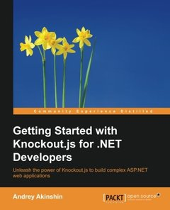 Getting Started with Knockout.js for .NET Developers-cover
