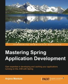 Mastering Spring Application Development-cover