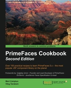 PrimeFaces Cookbook,  2/e(Paperback)-cover