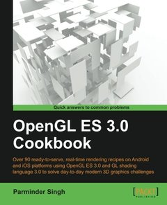 OpenGL ES 3.0 Cookbook (Paperback)-cover