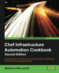 Chef Infrastructure Automation Cookbook,  2/e(Paperback)-cover