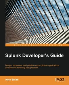 Splunk Developer's Guide-cover