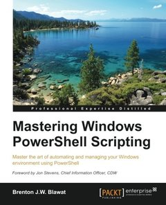 Mastering PowerShell-cover