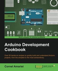 Arduino Development Cookbook-cover