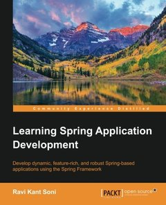 Learning Spring Application Development-cover