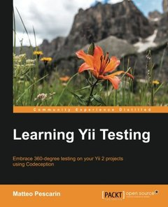 Learning Yii Testing-cover