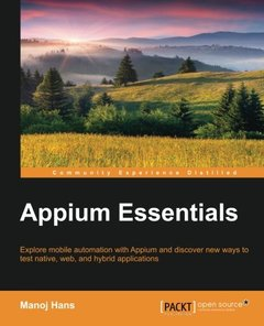 Appium Essentials (Paperback)-cover